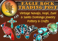 Vintage Native American Indian jewelry, and old and dead pawn from the Zuni, Hopi, Navajo and Santo Domingo pueblos